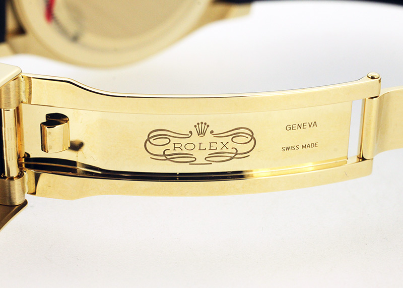 ロレックス 116518LN オイスターパーペチュアル コスモグラフ デイトナ YG シャンパン文字盤 自動巻き ラバー