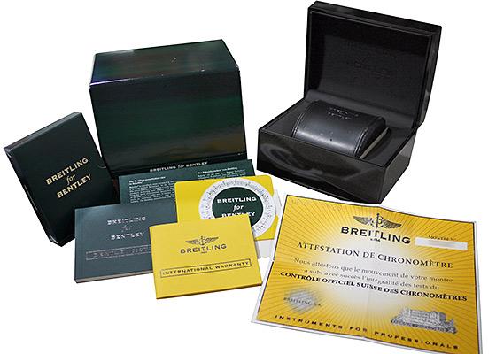 【中古】ブライトリング A256B86SPS(A25363) ベントレーモータースT SS 黒文字盤 自動巻き ブレスレット