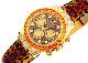 【中古】ロレックス 116598SACO オイスターパーペチュアル コスモグラフ デイトナ レパード YG レパード文字盤 自動巻き レザー【委託品】