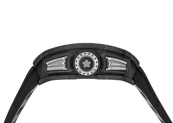 リシャール ミル RM11-03 オートマティック フライバック クロノグラフ カーボンTPT スケルトン文字盤 自動巻き ラバー