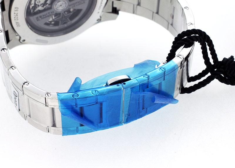 【未使用品】ゼニス 03.2522.400/69.M2280 クロノマスター エルプリメロ 36000vph ライトウェイト SS スケルトン文字盤 自動巻き ブレスレット