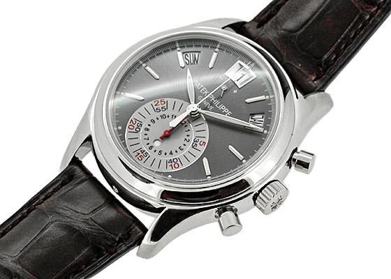 【複雑時計】パテックフィリップ  アニュアルカレンダー クロノグラフ 5960P-001 【中古】