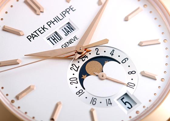 パテックフィリップ 5396/1R-010 アニュアルカレンダー RG シルバー文字盤 自動巻き ブレスレット