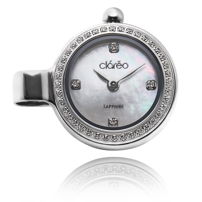 CRALEO クラレオ ペンダントチャームウォッチ Monetoile Flat CL1801Q_WH