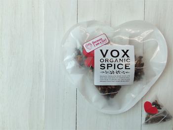 VOXSPICE★ハートのオーガニックハーブティー3種セット