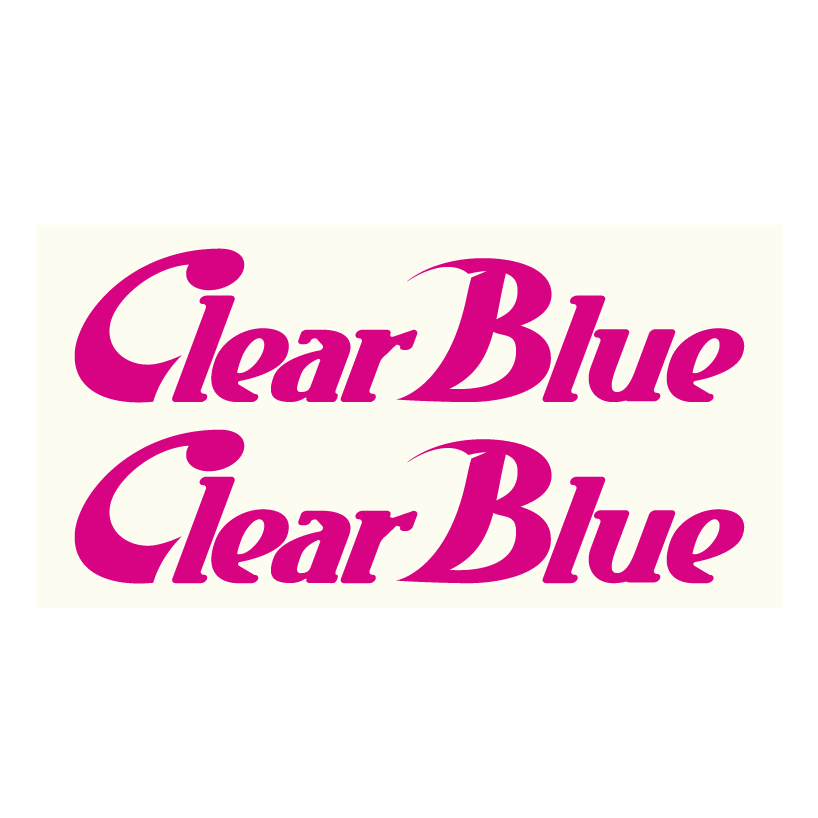 ClearBlue カッティング10cm2枚組