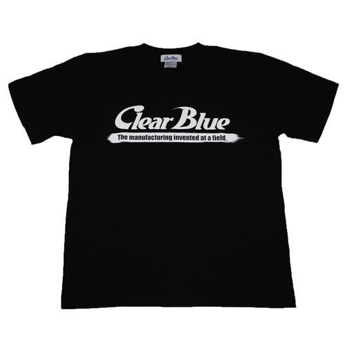 ClearBlue  ロゴTシャツ