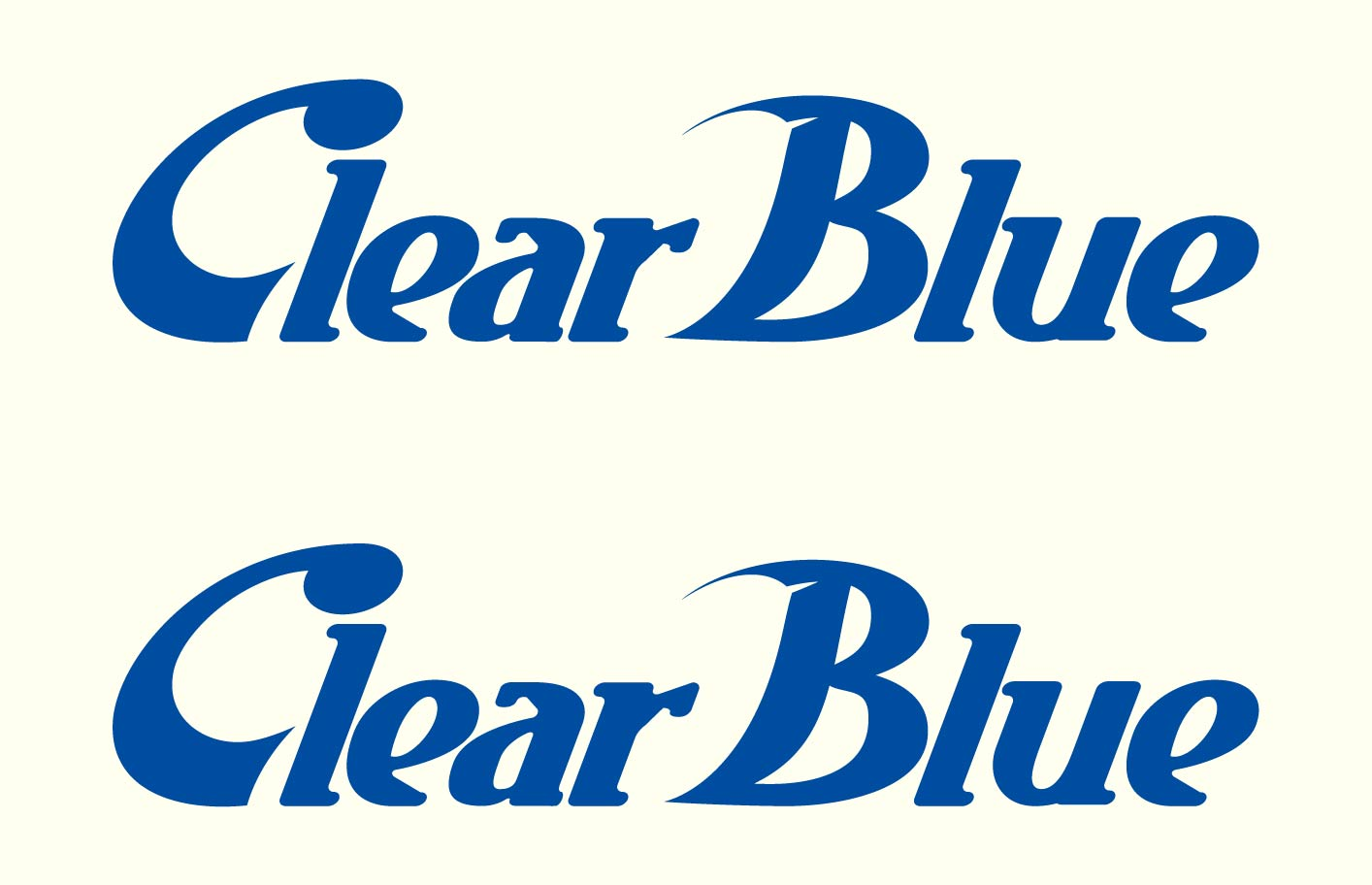 ClearBlueカッティング12�×50�【2枚組】
