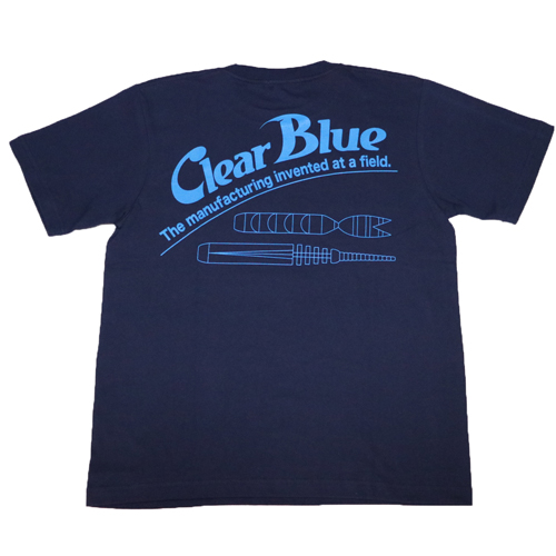 ClearBlue  ワームTシャツ