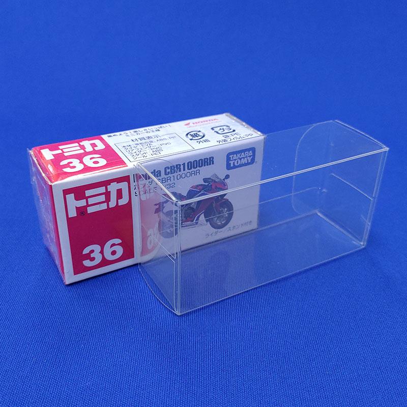 【ネコポス対応】 トミカ(小)用クリアケース / TT01 (10枚セット)