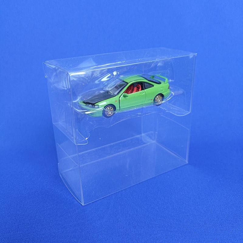 【ネコポス対応】 ERA CAR (小)2箱用クリアケース / TEC04 (10枚セット)