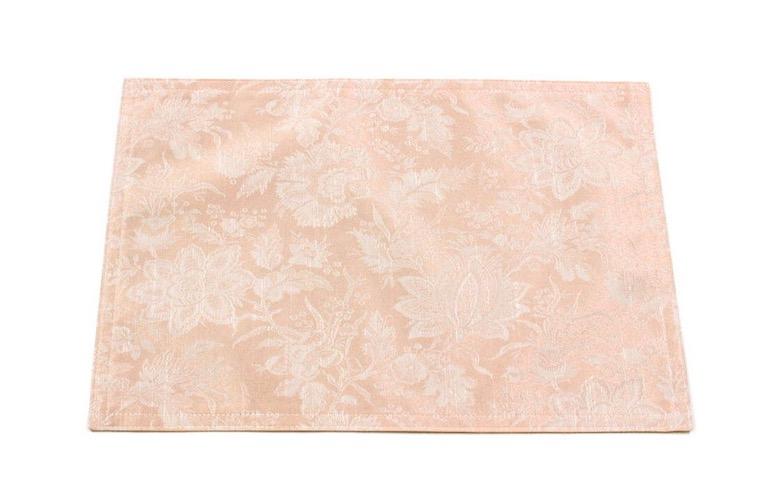 elegant flower 撥水ジャカード ランチョンマット 約32×45cm