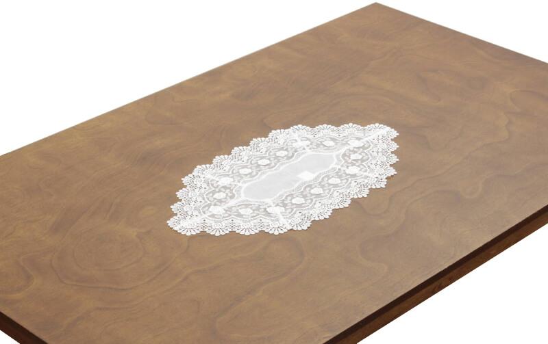 Rondo ギュピールレース テーブルセンター 約34×60cm