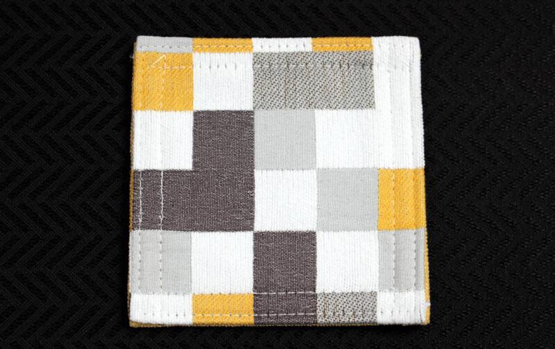 Pix シェニール織 コースター 約12×12cm