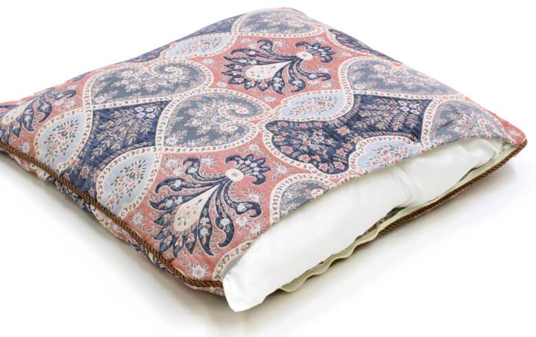Alva シェニール織 座布団カバー 約55×59cm
