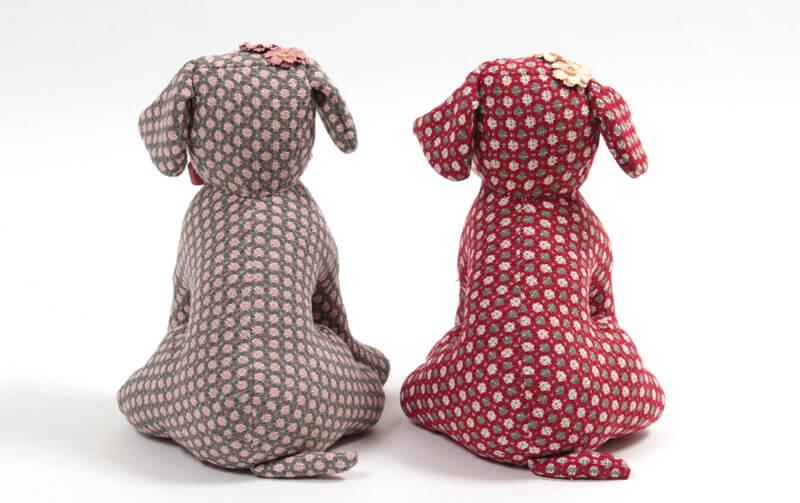 mammy-tweed  ツイード ドアストッパー 高さ 約35cm