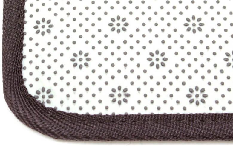Alva シェニール織 マット 約50×80cm