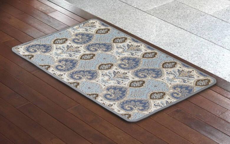 Alva シェニール織 マット 約60×90cm