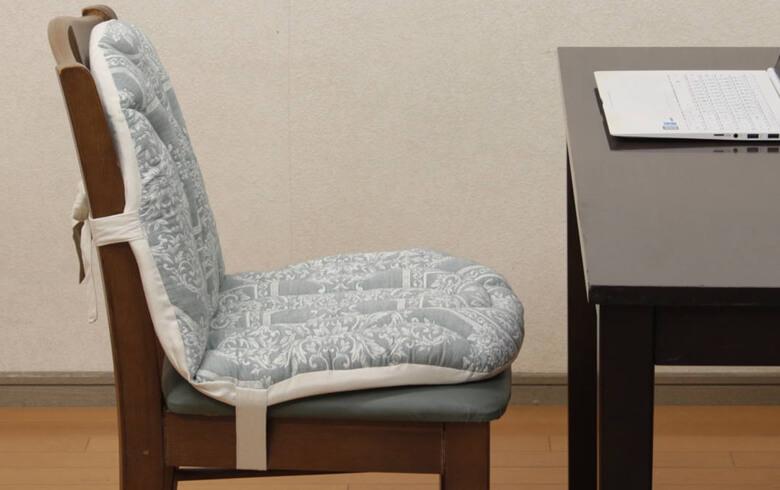 Classica ふくれ織 チェアクッション 約45×80cm