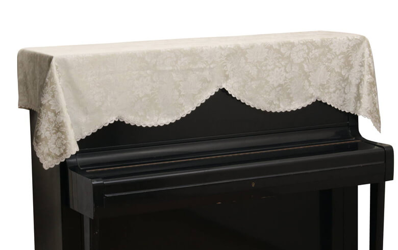 elegant flower 撥水ジャカード ピアノカバー 約200×75cm