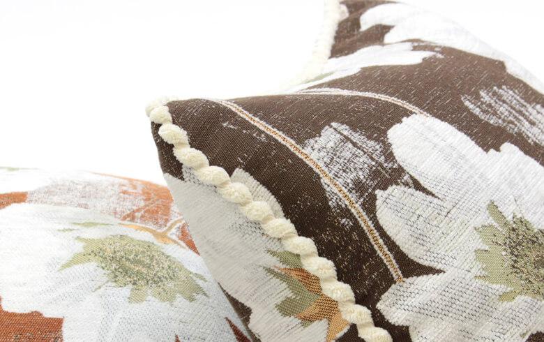 シェニール織 クッションカバー 約45×45cm