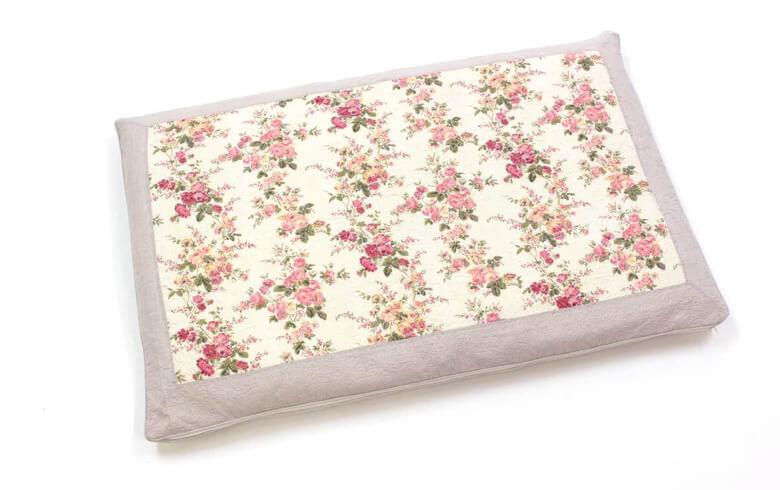 Rose-anne コットン多針キルト ロング座布団カバー 約68×105cm
