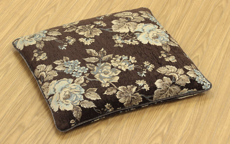 Matilda シェニール織 座布団カバー 約55×59cm