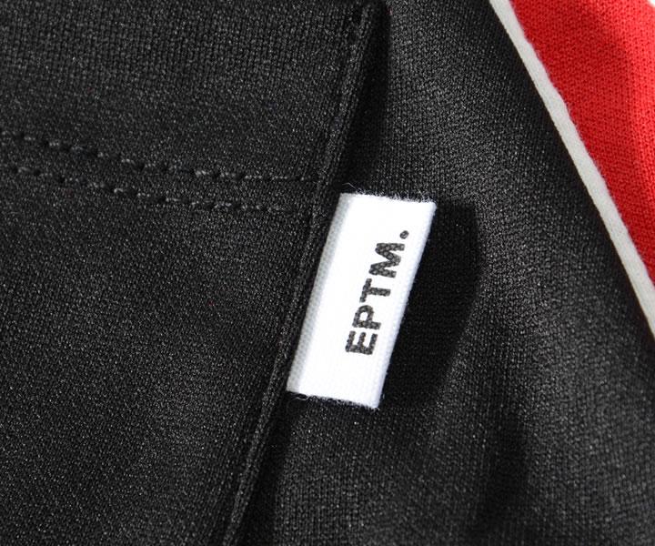 EPTM エピトミ トラックパンツ 切り替えパイピングデザイン 裾ジップ (E9608)