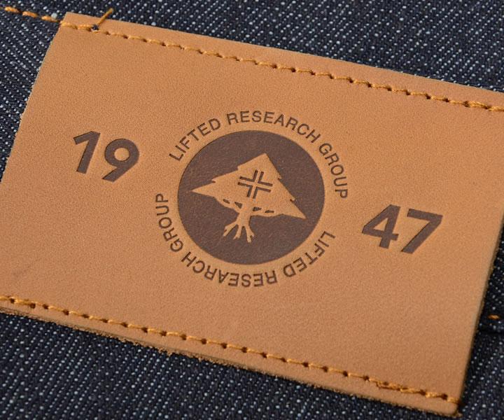 LRG エルアールジー ショートパンツ デニム ノンウォッシュ ステッチポケット TRUE STRAIGHT (J196005)