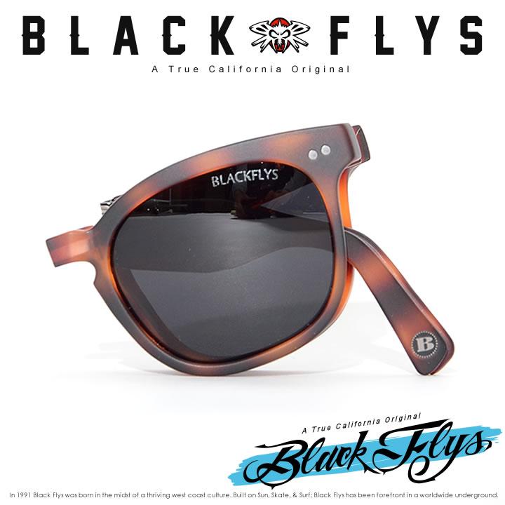 【セール】BLACK FLYS ブラックフライ サングラス UVカット スモークレンズ 折り畳み FLY GIBSON FOLD (BF-1221-2994)