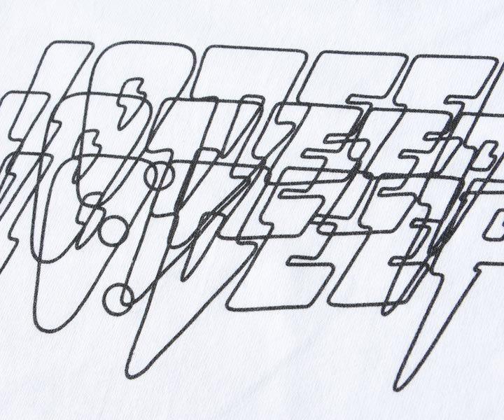 ロンT 長袖 THE HISTORY クラッシュ ボックスプリント (203TD4161)