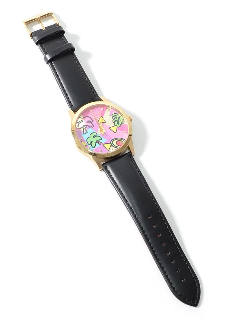 ALIVE ATHLETICS×SHETA ウォッチ 腕時計 80's CLASSICS SHETA コラボ ステッカー付き