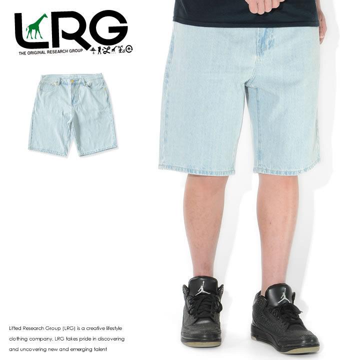 LRG エルアールジー ショートパンツ デニム ベーシック TRUE STRAIGHT (L0QHMBSXX)