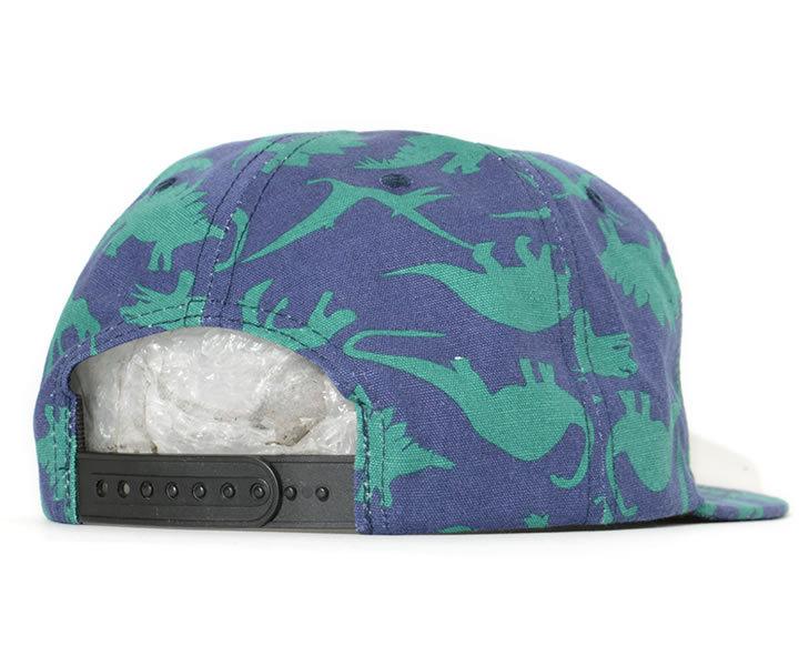 THRASHER スラッシャー キャップ 帽子 スナップバック 総柄 ダイナソー (313406)