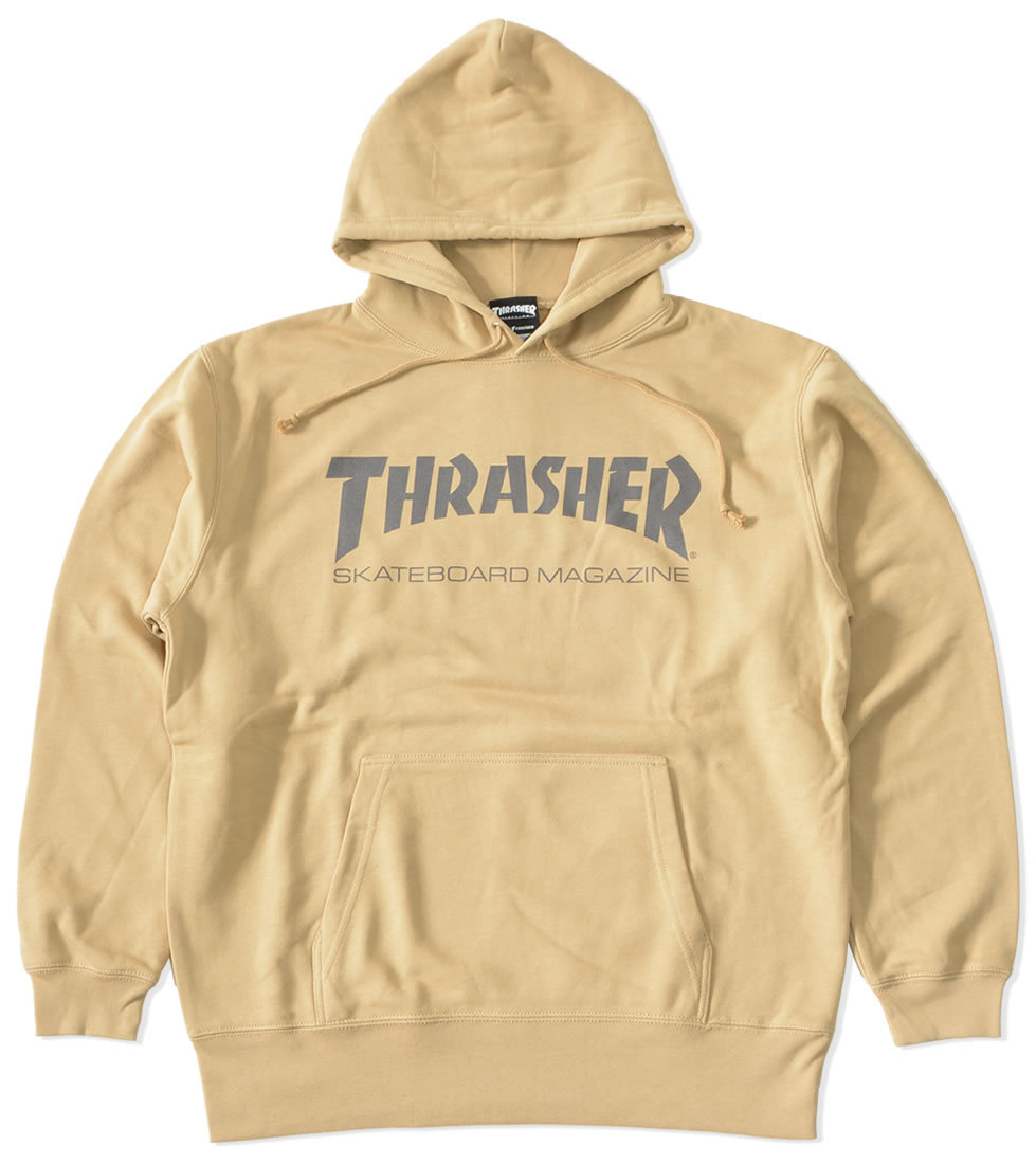 THRASHER スラッシャー スウェットパーカー MAGロゴ (TH8501PL)