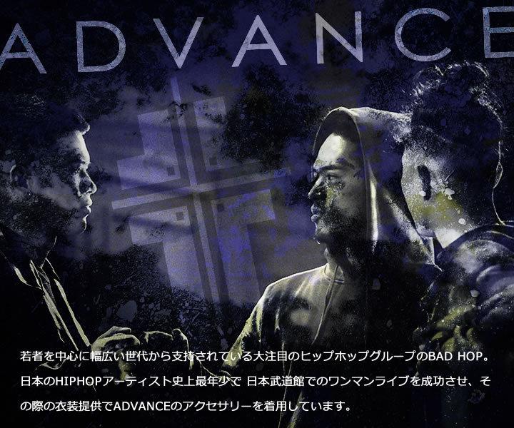 ADVANCE アドバンス ゴールドチェーン ネックレス アンククロス (ARG-2033)