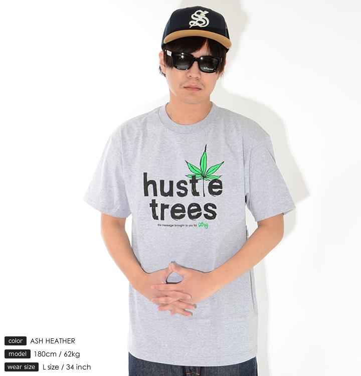 LRG エルアールジー Tシャツ 半袖 hustle trees ラフフォント マリファナ (L0KTMSCXX)