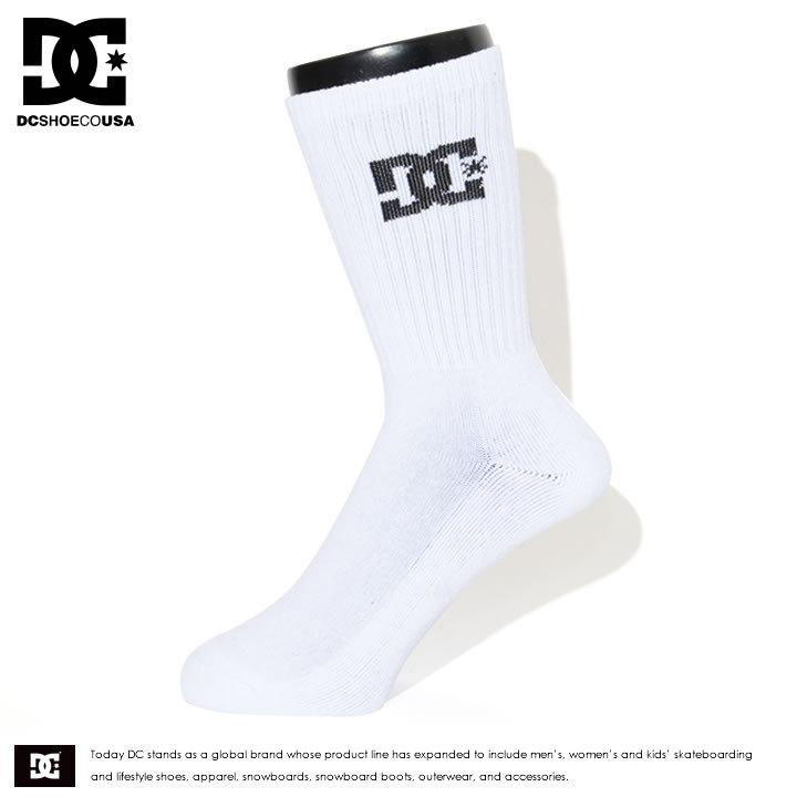 DC SHOES ディーシーシューズ ソックス 靴下 ロング CREW 3P 3足セット (EDYAA03149)
