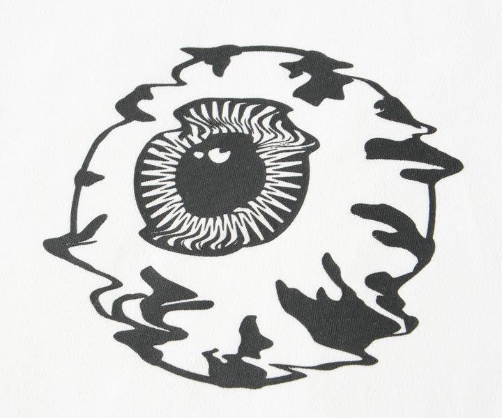 MISHKA ミシカ ロンT 長袖 フーディ レイヤード タイダイ柄 ノイズキープウォッチ (M21000004)