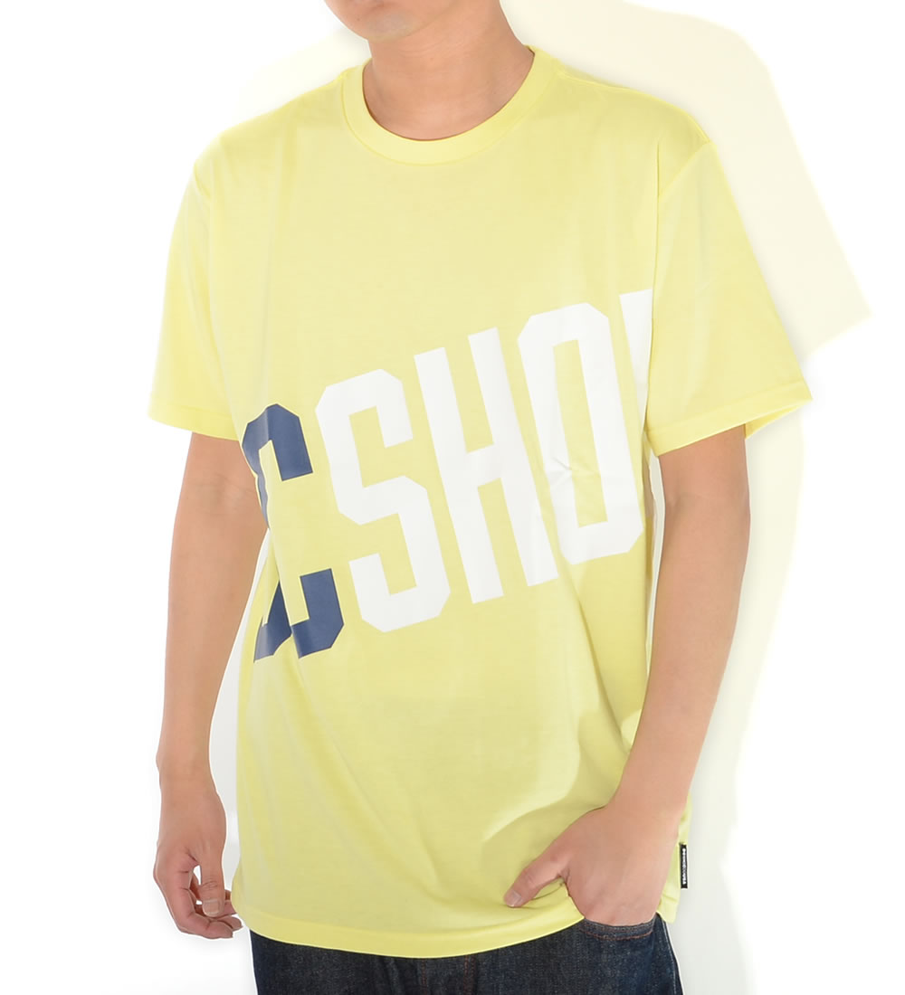 【セール】DC SHOES ディーシーシューズ Tシャツ 半袖 ビッグスラントネームロゴ RELAXED DESIGN (5226J923)