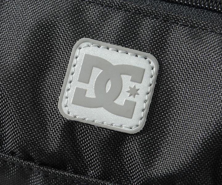 DC SHOES ディーシーシューズ ウエストバッグ カバン ジャガードストラップ リフレクターロゴ (5130J010)