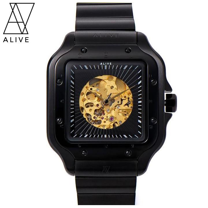 ALIVE ATHLETICS アライブアスレチックス ウォッチ 腕時計 手巻き NAKED METAL (4571314677647)