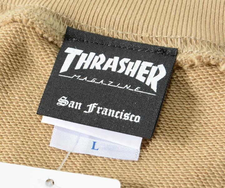 THRASHER スラッシャー スウェット クルーネック MAGロゴ (TH8401PL)