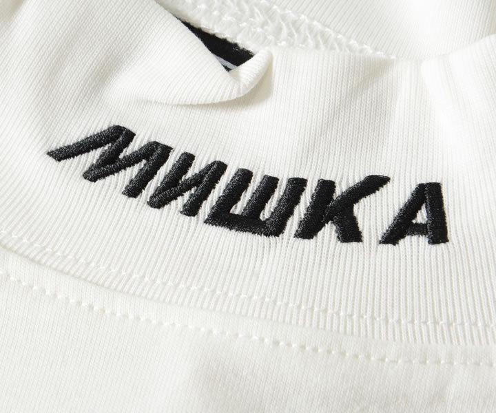 MISHKA ミシカ ロンT 長袖 ハイネック 胸ワンポイントキープウォッチ (MAW200074)