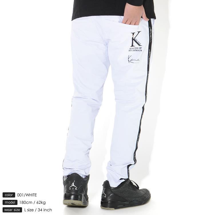 KARL KANI カールカナイ ロングパンツ サイドライン ストレッチ (212KG1802)