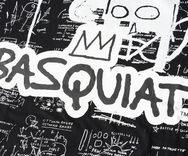 REASON リーズン Tシャツ 半袖 BASQUIAT バスキア コラボ マルチグラフィック (RCF20132)
