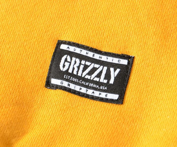 GRIZZLY グリズリー スウェットパーカー フラッグロゴ G.G.C (GMC2008P04)
