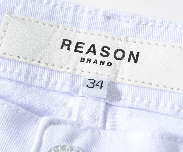 【セール】REASON リーズン デニムパンツ マルチカラーグラフィック ファイヤーパターン (A1-114)