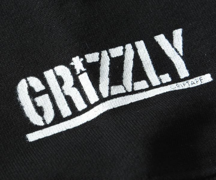 GRIZZLY グリズリー スウェットパーカー トライアングルロゴ (GMC2008P02)