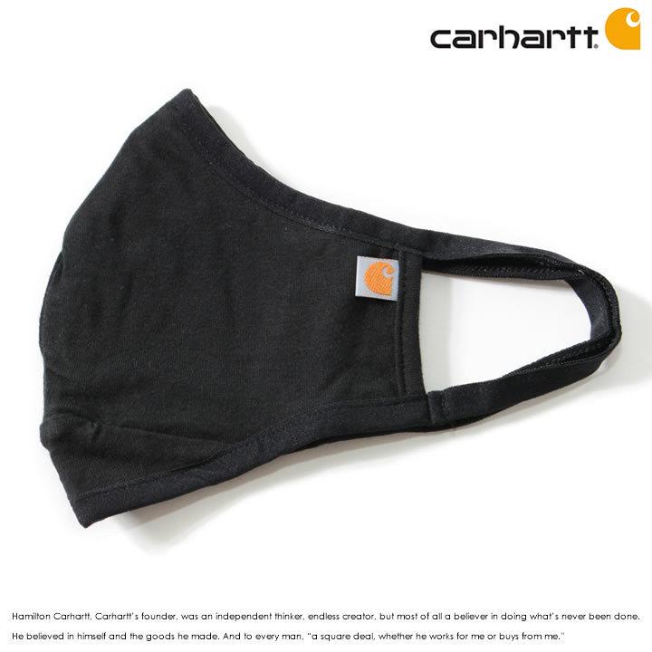 CARHARTT カーハート ファッションマスク コットン ワンポイントロゴ ピスネーム (AH5083-M)